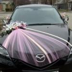 carro dos noivos recém casados - mini casamento