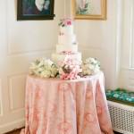mesa do bolo - mini casamento