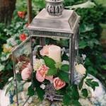 lanterna e flores - mini casamento