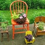 decor de cadeiras e plantas - mini casamento