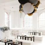 lounge moderno preto e branco - mini casamento - decoração de casamento Curitiba
