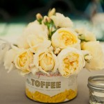 arranjo amarelo vintage curitiba - mini casamento curitiba - decoração de casamento Curitiba