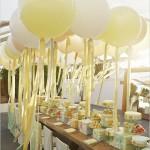 baloes amarelo - mini casamento curitiba - decoração de casamento Curitiba