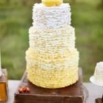 bolo amarelo curitiba - mini casamento curitiba - decoração de casamento Curitiba