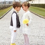dama e pajem amarelo curitiba - mini casamento curitiba - decoração de casamento Curitiba