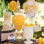 mesa de doces amarela curitiba - mini casamento curitiba - decoração de casamento Curitiba