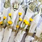 talheres - mini casamento curitiba - decoração de casamento Curitiba